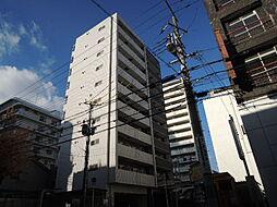 大阪府大阪市中央区法円坂1丁目の賃貸マンションの外観