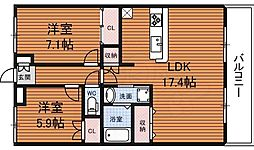 木津駅 5.9万円