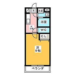 MAROHTO[2階]の間取り