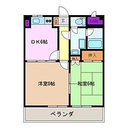 L・miore[2階]の間取り