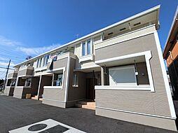 千葉県四街道市内黒田の賃貸アパートの外観