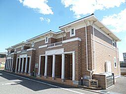 東京都青梅市新町1丁目の賃貸アパートの外観