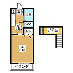 エクセルMII[1階]の間取り