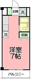 エステートピア湘南[2階]の間取り