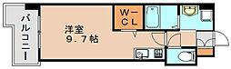 ギャラクシー県庁口[11階]の間取り