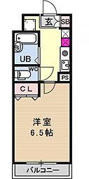 ルイシャトレ21[504号室号室]の間取り