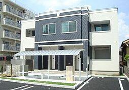愛知県名古屋市守山区森孝2丁目の賃貸アパートの外観
