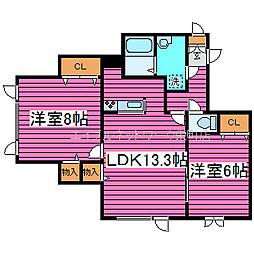 [タウンハウス] 北海道札幌市北区篠路七条6丁目 の賃貸【/】の間取り