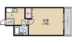 さくらマンション2[2階]の間取り