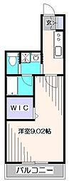 ハナコテラス[2階]の間取り