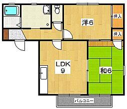 グランメールK[2階]の間取り
