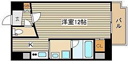 RICHE NAGAMOTO[3階]の間取り