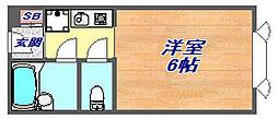 龍野ビル[2階]の間取り