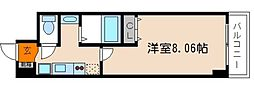 京都烏丸保粋ビル[503号室]の間取り