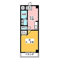 ラーク21[1階]の間取り