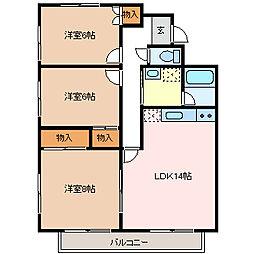 マンション 5 Nomoto[3階]の間取り