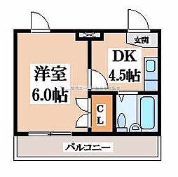 小阪CTハウス[7階]の間取り