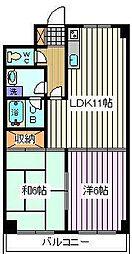 埼玉県さいたま市南区別所6丁目の賃貸マンションの間取り