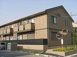 京都府城陽市寺田西ノ口の賃貸アパートの外観