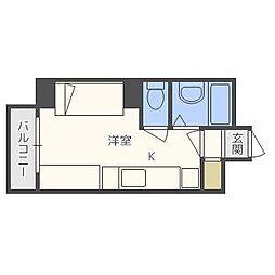 e−ハウス[507号室]の間取り