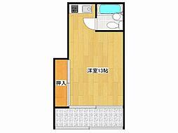 花岡荘[1階]の間取り