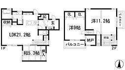 [一戸建] 兵庫県宝塚市中筋山手7丁目 の賃貸【/】の間取り