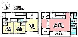 北岡崎駅 4,480万円