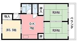 甲林ビル[3階]の間取り