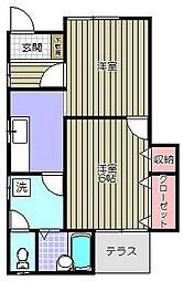 T−House[1階]の間取り