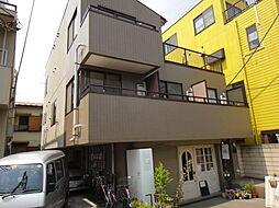 東京都目黒区上目黒4丁目の賃貸マンションの外観
