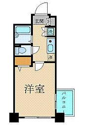 プレール文京WEST(プレールブンキョウウエスト)[9階]の間取り