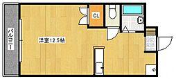 レジデンスT[2階]の間取り