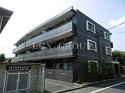 東京都あきる野市秋川5丁目の賃貸マンションの外観