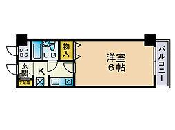 シスタス赤坂[3階]の間取り
