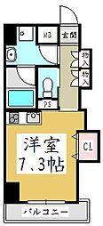 埼玉県川口市前川1丁目の賃貸マンションの間取り