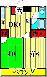 佐藤マンション2[102号室]の間取り