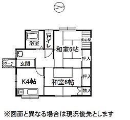 [一戸建] 長野県岡谷市長地小萩3丁目 の賃貸【/】の間取り