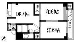 村本ビル[4階]の間取り