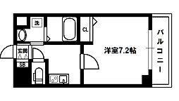 ASTIA新大阪III[5階]の間取り