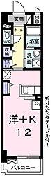 兵庫県明石市大道町2丁目の賃貸アパートの間取り