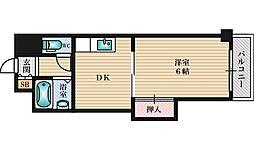 ローズコーポ新大阪7[4階]の間取り