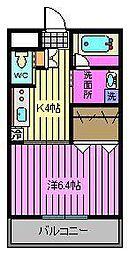 Comodo Vita[5階]の間取り