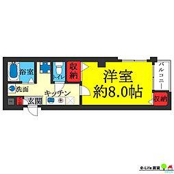 アビコ88マンション[4階]の間取り