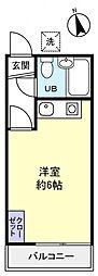 サンシャイン高根木戸[2階]の間取り
