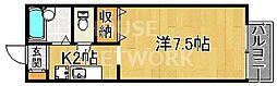 ルミエール松ヶ崎(学生専用マンション)[115号室号室]の間取り
