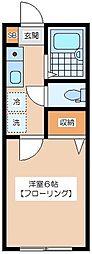 GRANDEUR[1階]の間取り