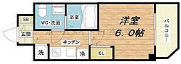 S-RESIDENCE北浜[8階]の間取り