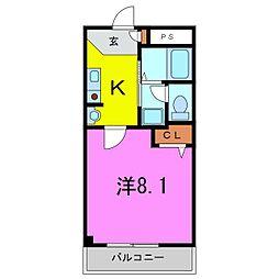 東浦町 CASA LUMACA[2階]の間取り