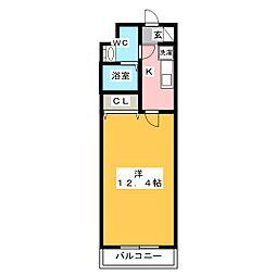 サンシャイン馬込[3階]の間取り