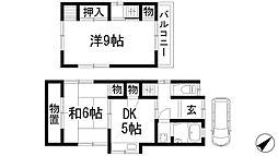 [一戸建] 兵庫県川西市霞ケ丘1丁目 の賃貸【/】の間取り